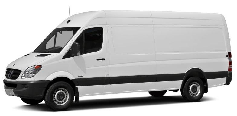 2017 Mercedes-Benz Sprinter Extended Cargo Van