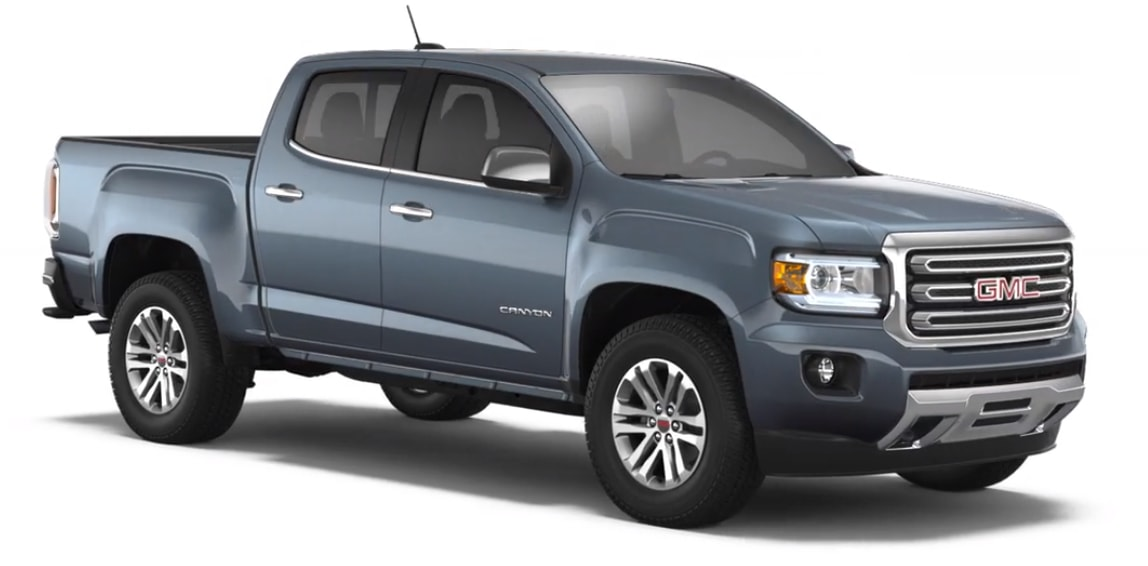 2018 GMC Canyon 2WD Best MPG Truck