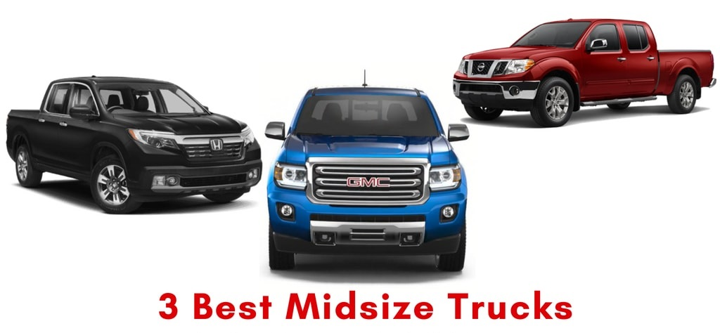 3 Best Midsize Trucks