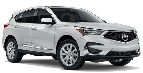 Acura MDX 7 passenger vehicles