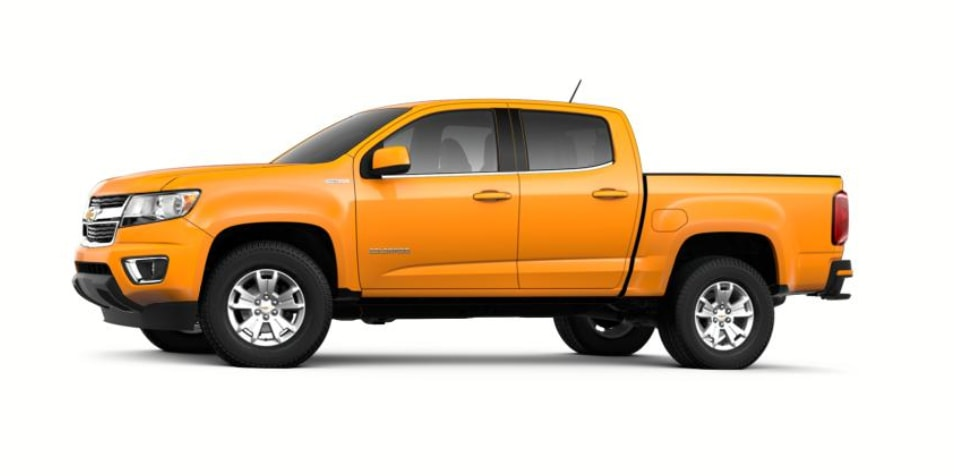 Best MPG Trucks - Chevy Colorado Diesel