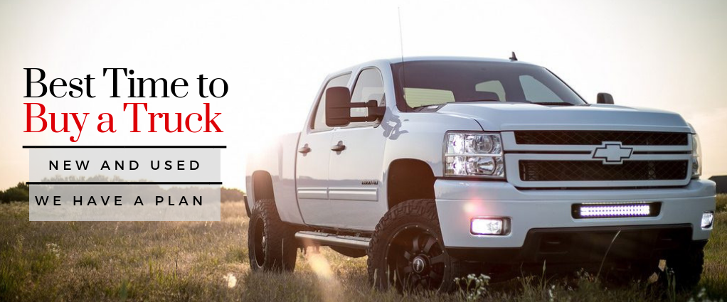 Best Time to Buy a Truck New and Used