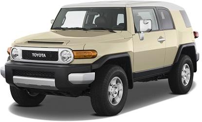 Best Used 4x4 SUV - Toyota FJ Cruiser