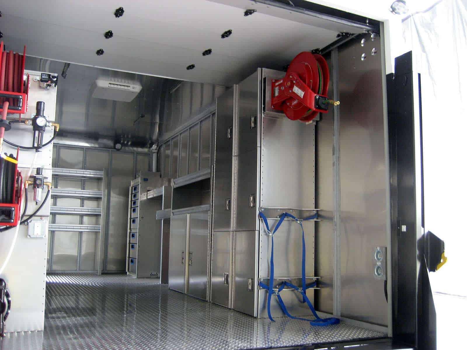 Box Truck Storage System