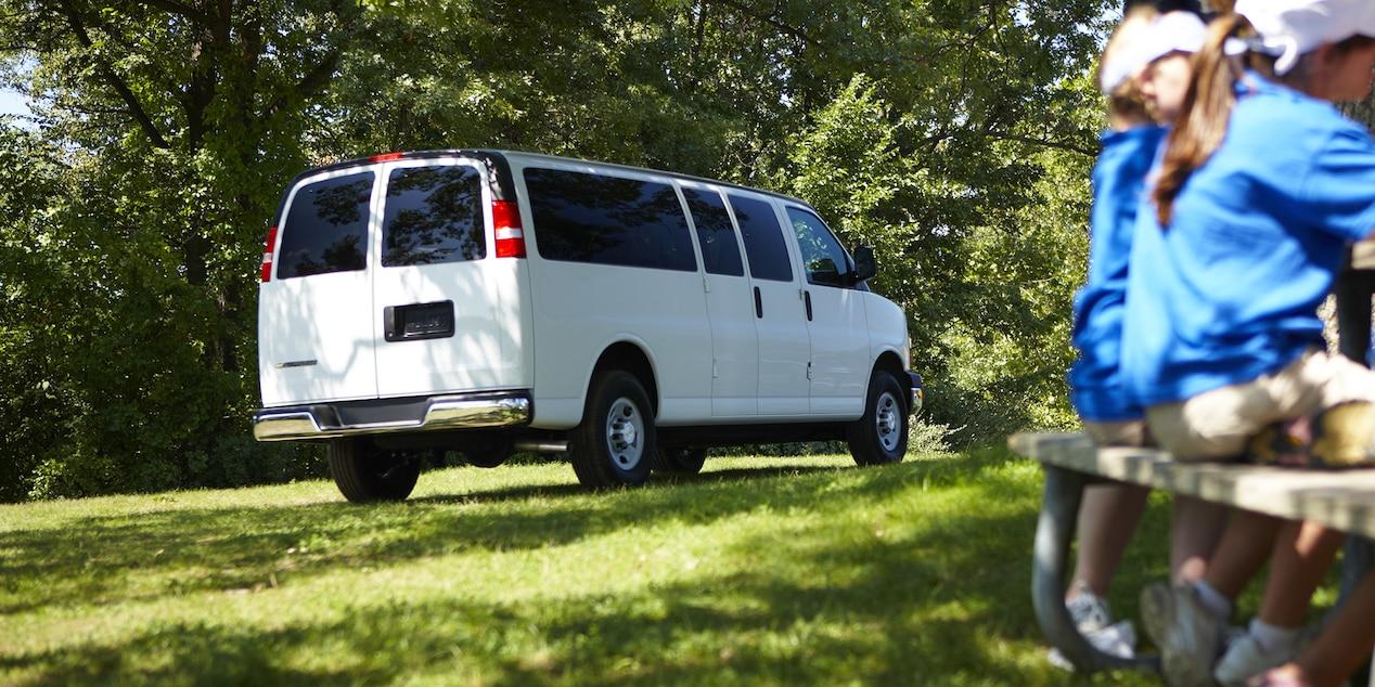Chevrolet 15-passenger van