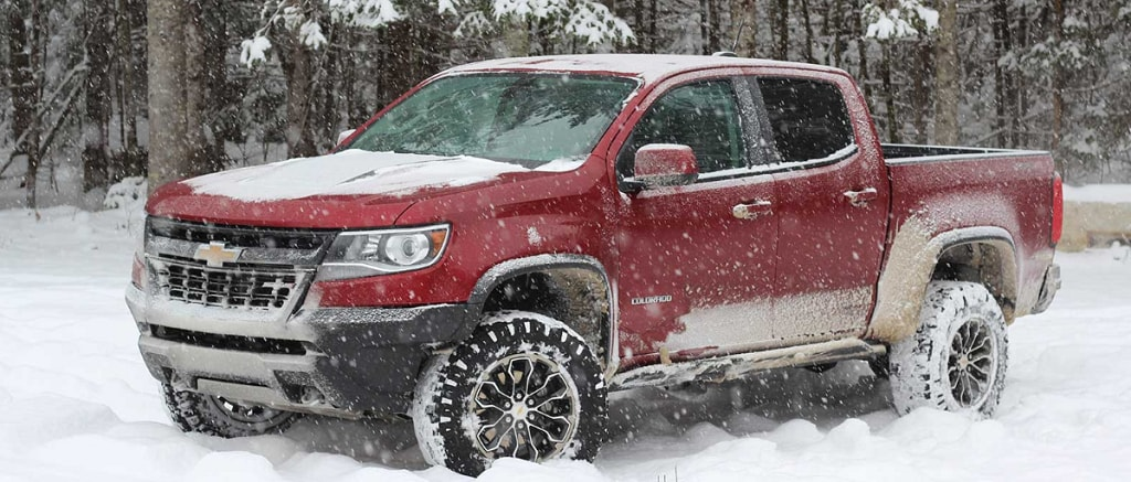 Chevrolet Colorado ZR2 in Deep Snow