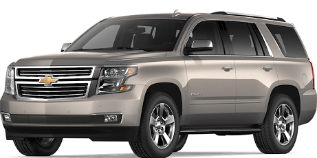 Chevrolet Tahoe 7 passenger vehicles