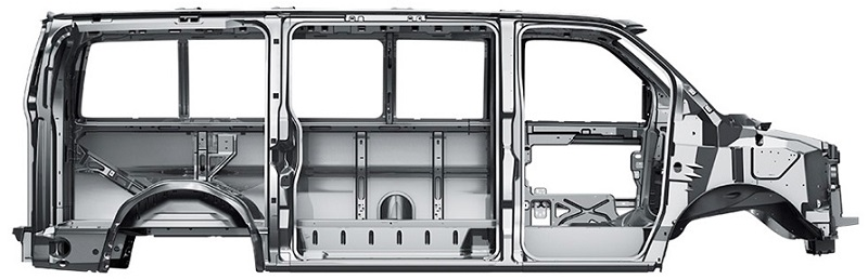 Chevy Express Cargo Van Safety features