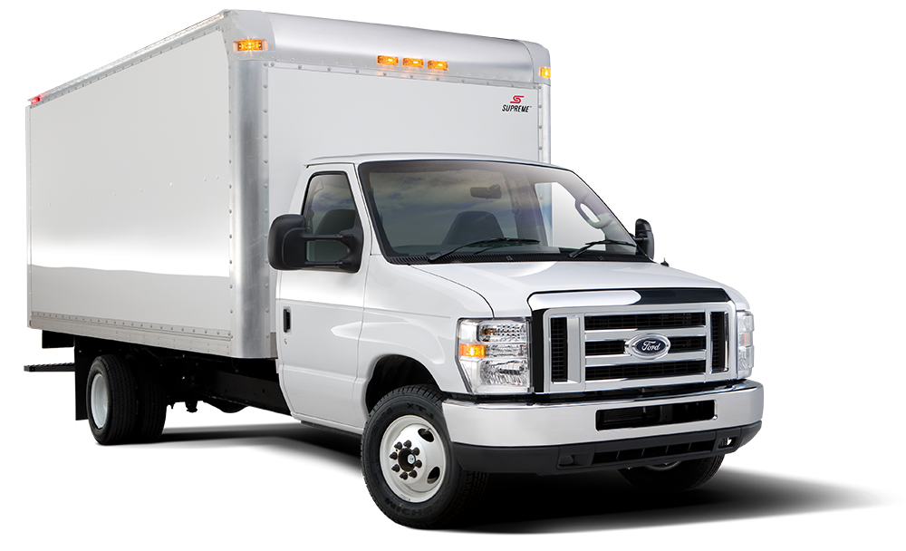 Ford E-Series Box Truck