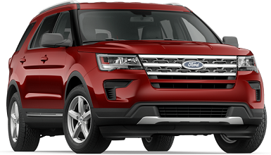 Ford Explorer best 3rd row suv