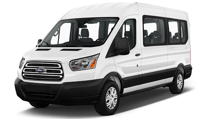 Ford Transit 12-passenger van