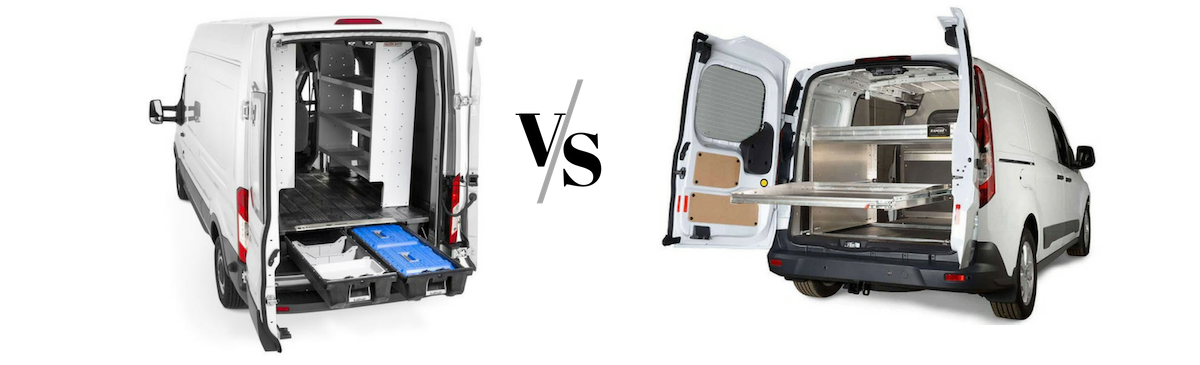 Ford Transit Connect Cargo Vans vs. Ford Transit Cargo Van