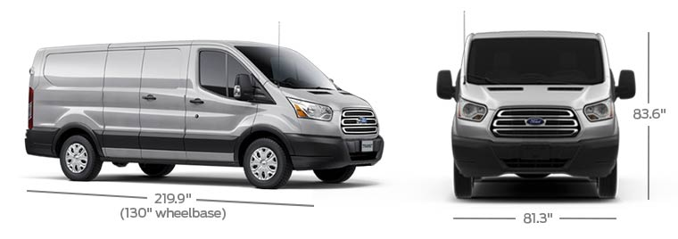 Ford Transit Dimensions
