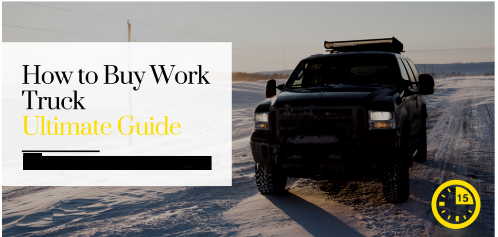 How to Buy Work Truck Without Making a Mistake