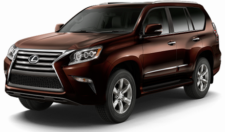 Lexus GX 460 3rd row vehicles