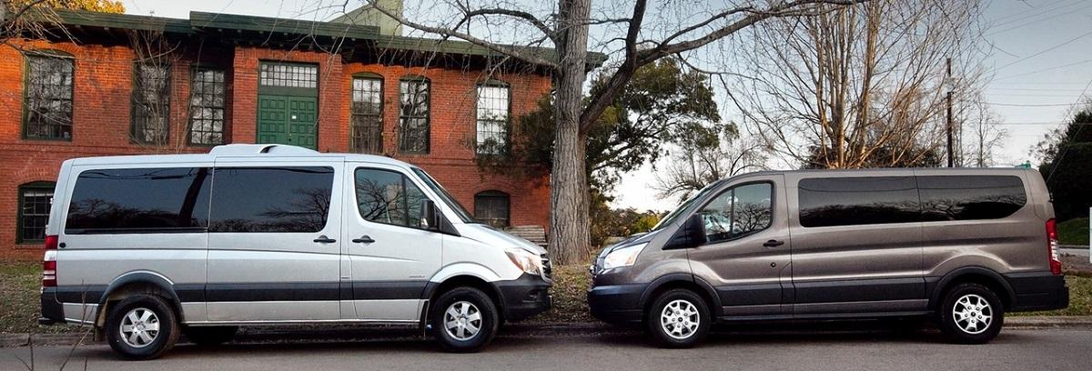 Mercedes-Benz Sprinter Passenger Van vs. Ford Transit Passenger Van