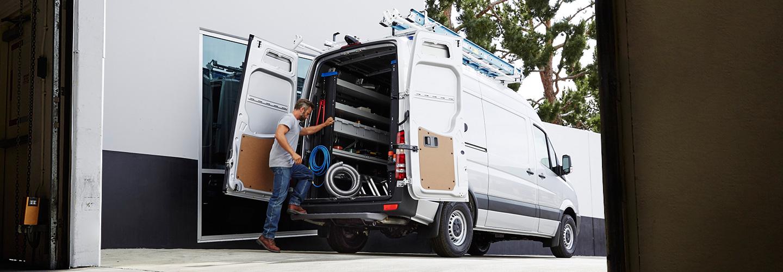 Merceds Sprinter Cargo Van