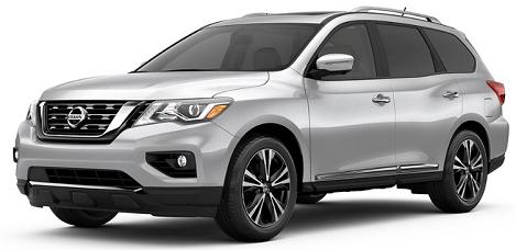 Nissan Pathfinder - best 7 passenger suv