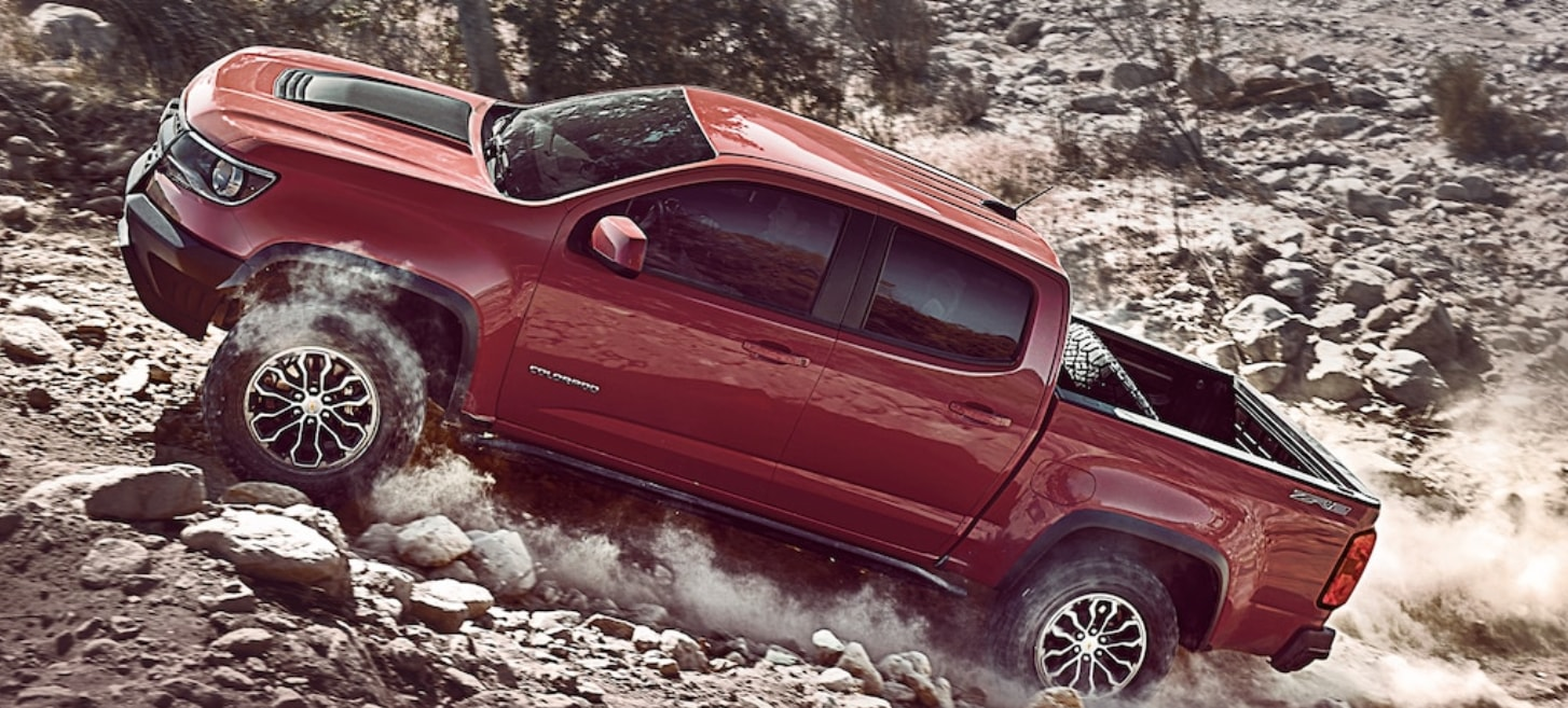 Off Road Trucks Chevrolet Colorado ZR2