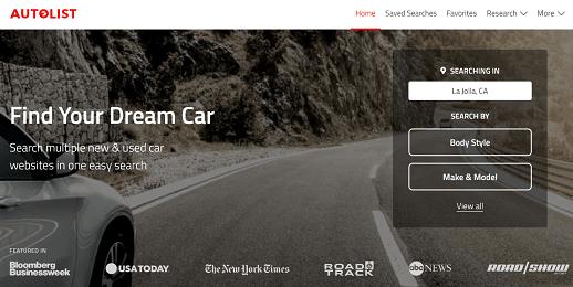 AUTOLIST – Used Car Website