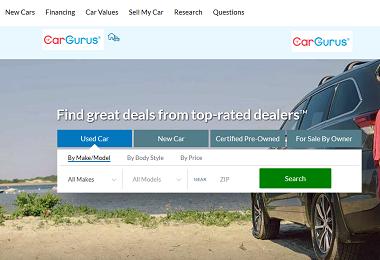 CarGurus – Excellent for Bargaining