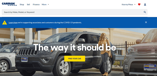 CarMax – #1 Chain of Used-Car Dealerships