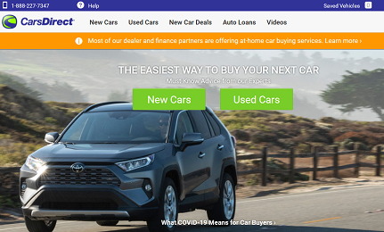 CarsDirect – Easy to Use Portal