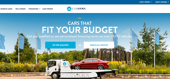 Carvana – Fantastic Plans for Used Car Financing