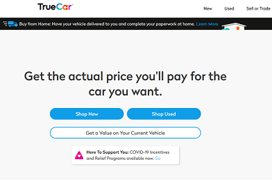 TrueCar – Best Used Car Site for Buyers