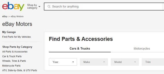 eBay Motors – Leading Vehicle Protection Program