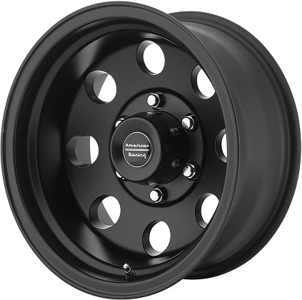 American Racing Black AR172 Baja Satin Wheels