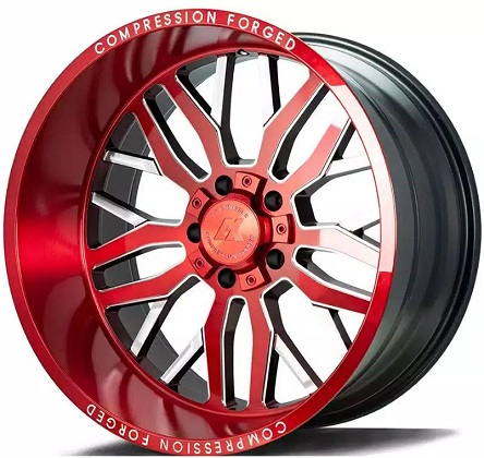 Axe Candy Red AX1 Rims