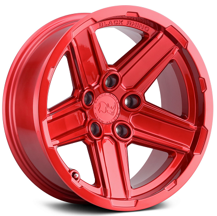 Black Rhino Wheels Recon Candy Red Off-Road Rims