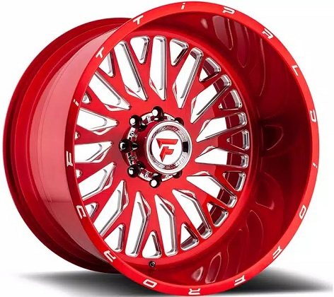 Fittipaldi Off-Road Forged Red FTF 07 Rims