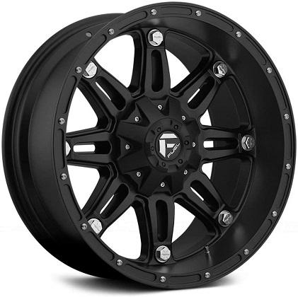 Fuel Matte Black Hostage D531 Wheels