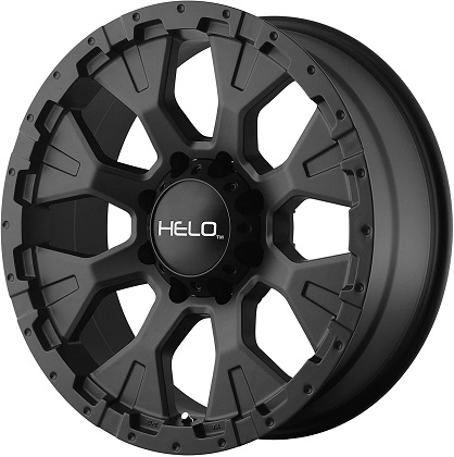 Helo HE878 Black Satin Wheels