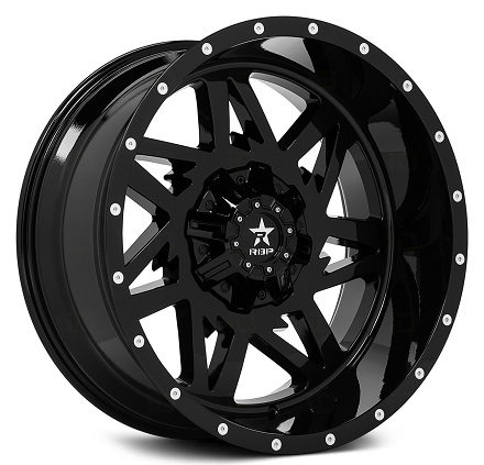 Rolling Big Power 71R Avenger Gloss Black Wheels
