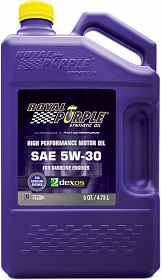 Royal Purple SAE 5W-30 High Performance Synthetic Oil