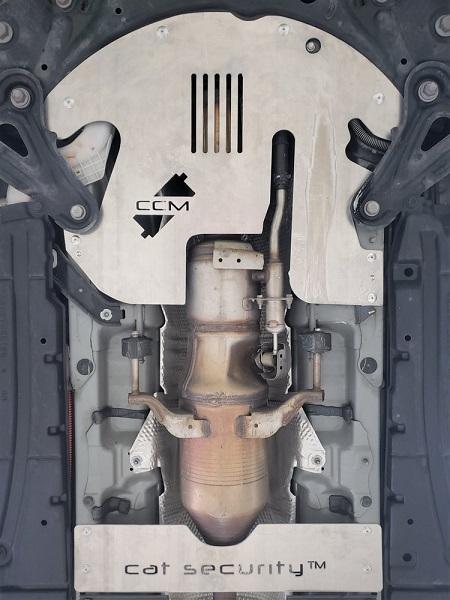 catalytic converter lock
