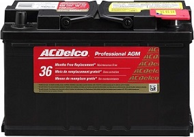 ACDelco 94RAGM Automotive Battery – Best Rated Car Battery