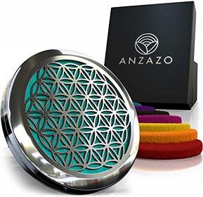 Anzazo Car Essential Oil Diffuser – Best Luxury Car Air Freshener