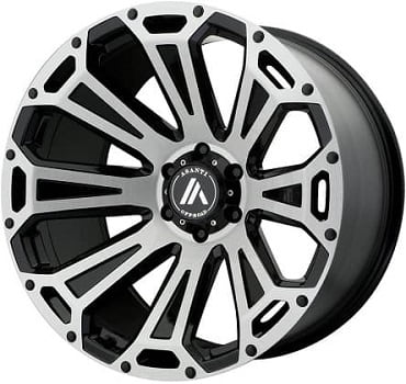 Asanti-Off-Road-AB813-Cleaver-Black-Brushed-Wheels