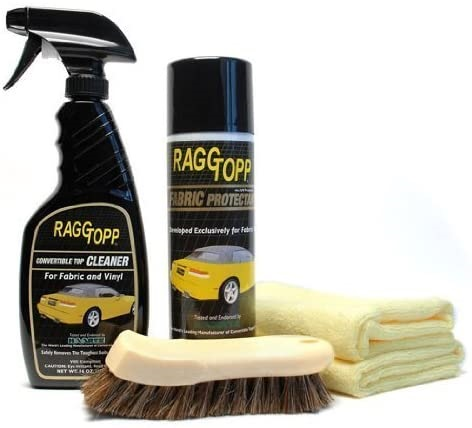 Raggtopp Convertible Top Cleaner Fabric Kit