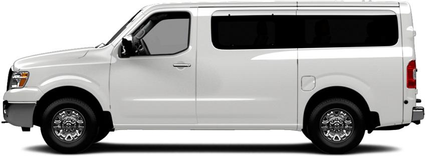 Nissan NV 3500 12-passenger van